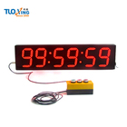 Hot sale 6 inch 6 digits digital clock countdown timer with external buttons