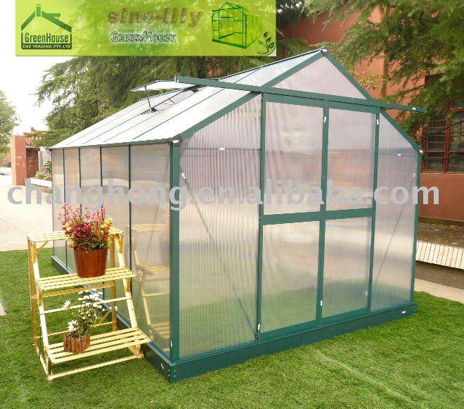 G1001c invernaderos afici n jard n del patio trasero for Invernaderos de jardin