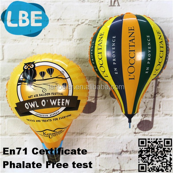 customize printing mini hot air balloons for sale