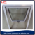 aluminum frame frosted glass awning window for bathroom