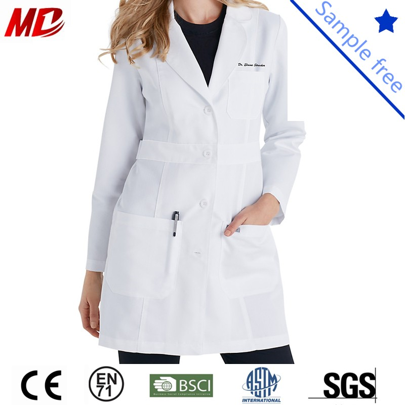 Wholesale Lab Coat for Hospital Doctors Surgical Clothes