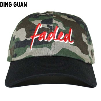 12e347087ee Front Embroidery Sports Cap Dad Hat-camo - Buy Strapback Hat In ...