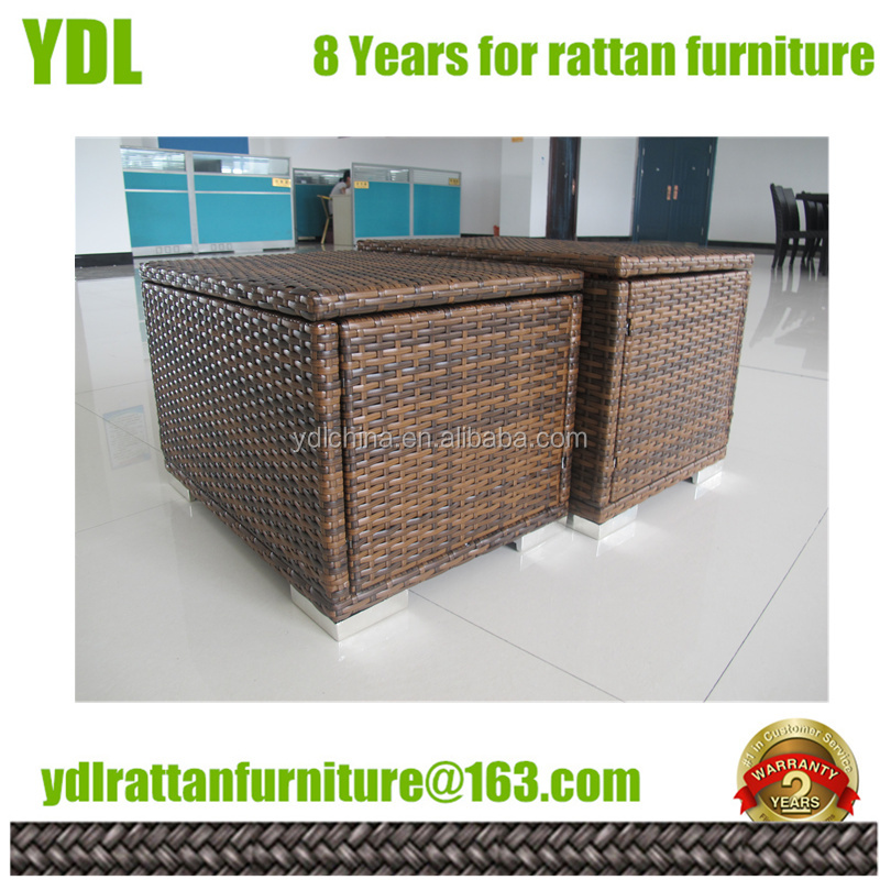 Youdeli rattan garden patio furniture deals storage