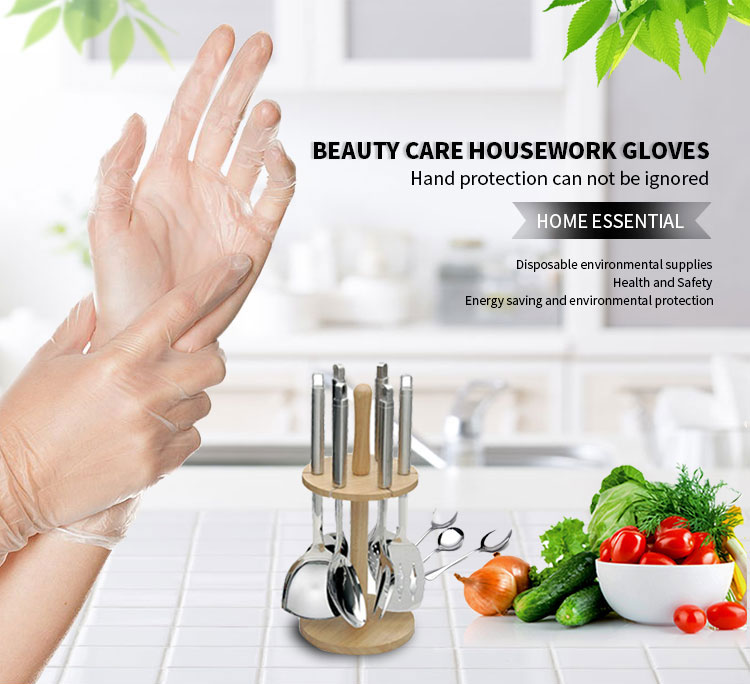 3 5 Gram Hot Sell Clear Vinyl Disposable Gloves With Aql 1