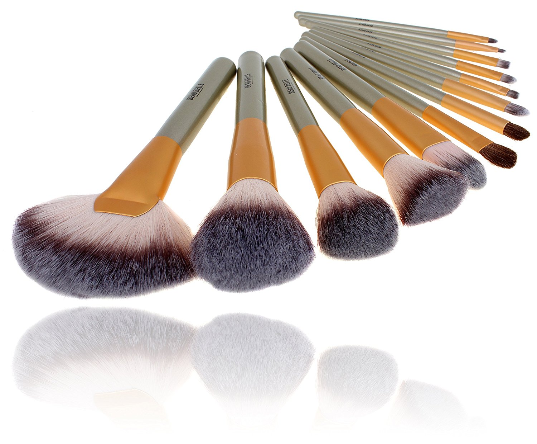 Beau Belle Makeup Brushes - Make Up Brushes - Makeup Brush Set - Professional Makeup Brushes - Makeup Brushes Set - Best Makeup Brushes - Makeup Brush Kit - Makeup Brush Set Professional - Makeup Brush Set With Case - Make Up Brush Set Professional