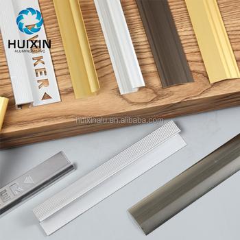 Aluminum Floor Transition Skirting Tile Trim Stair Nose