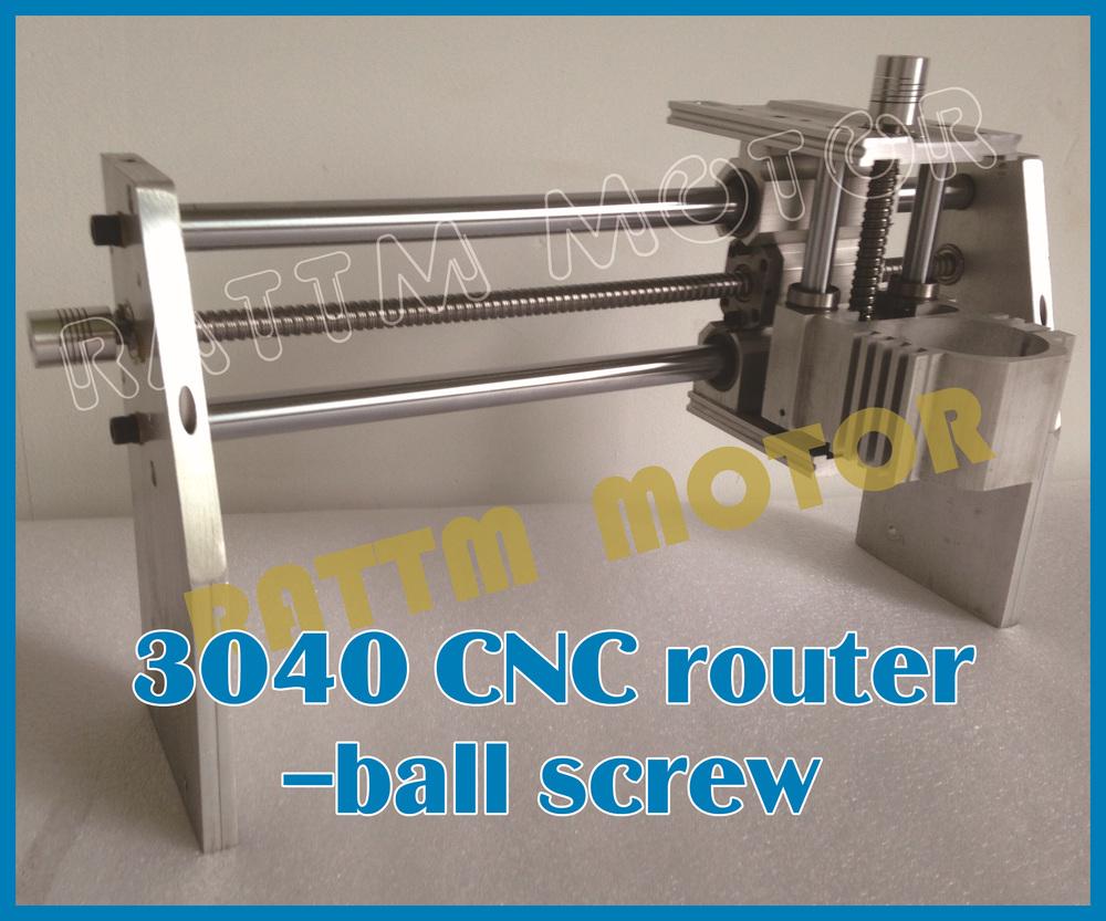 3040 Cnc Router Kit Milling Machine Mechanical Kit Ball Screw