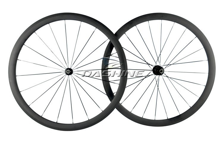 farsports 38mm bicycle carbon clincher wheels
