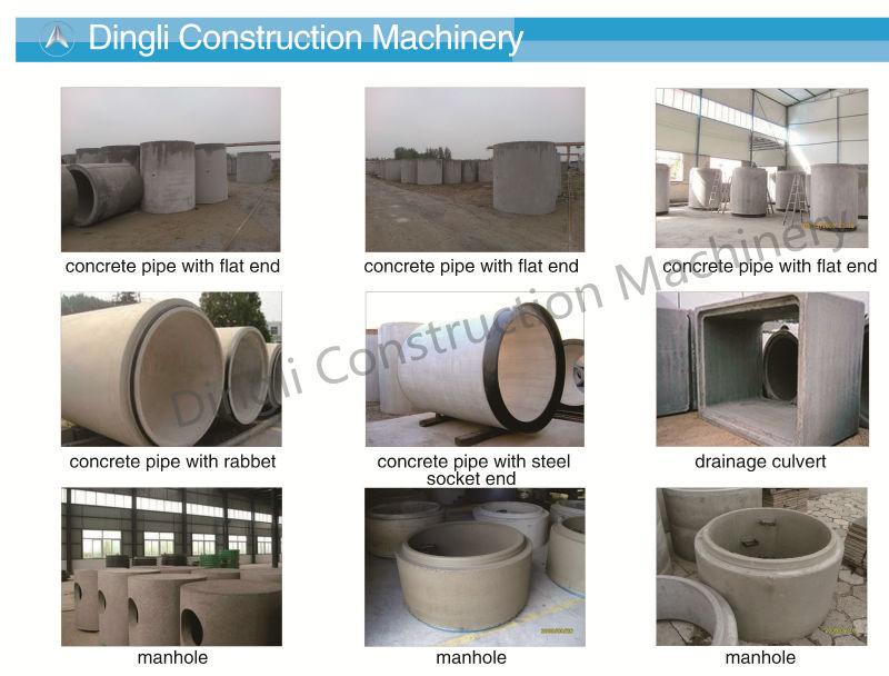 vertical wet casting concrete pipe mold &vibrator, View dry cast reinforced  concrete culvert mould, dingli Product Details from Gaotang Dingli