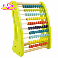 New wooden math toy, wooden abacus toy for children, preschool abacus toy for baby W12A022