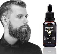 Hot Selling OEM Beard Care 30ml Bottle Box Private label 100% Natural Fragrance Argan Organic Vegan Beard Oil for Mens