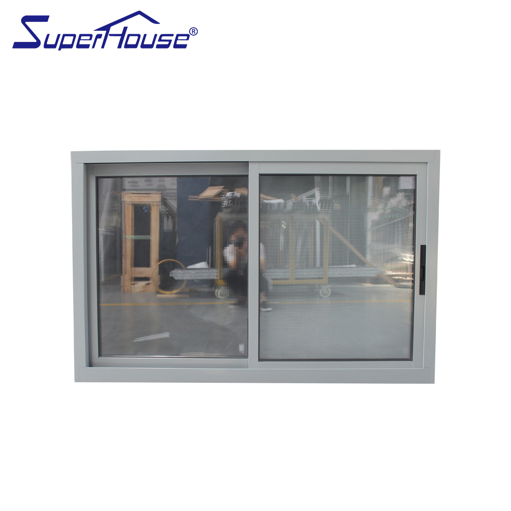 Miami-Dade County Approved Hurricane Certification sliding glass reception window in china