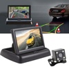 Cutelook Foldable 4.3 Inch Color LCD TFT Rearview Monitor for Car Backup Camera