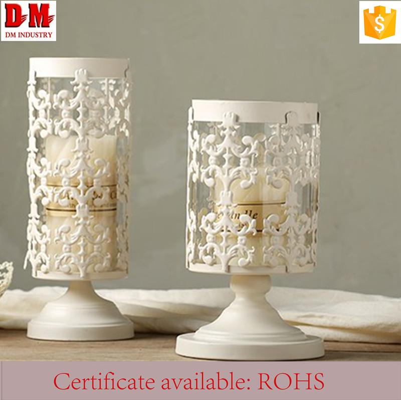 Delicado soporte sostenedor de vela de cristal atractivo linterna soportes para velas - Soporte para velas ...