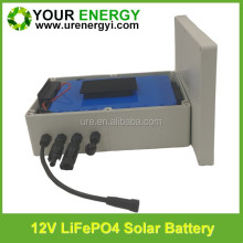 lifepo4 lithium battery 12v 10ah 20ah 30ah 40ah with controller in waterproof for 12 volt solar street light
