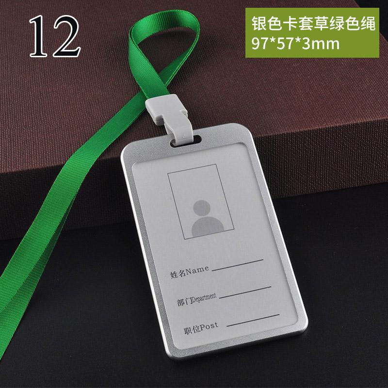 Novely металлический выдвижной значок, простой прозрачный держатель для удостоверения личности, пряжка, имя, ярлык, держатель для карт, подарк...(Китай)