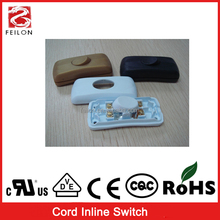 Various color screwing wiring 250V/4A electrical pull cord switch