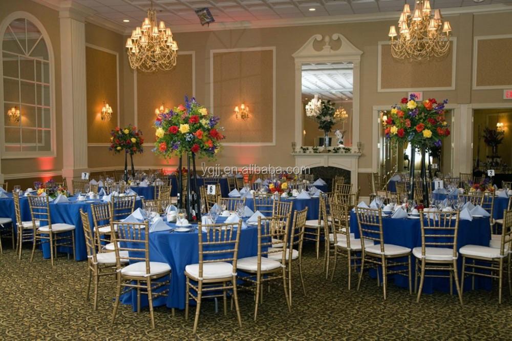 Wholesale Ballroom White Metal Silla Tiffany Chiavari Chair Banquet For Wedding Hall Sale