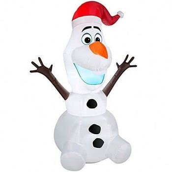 frozen lighted olaf christmas airblown inflatable blow up lawn yard decoration led inflatable decoration