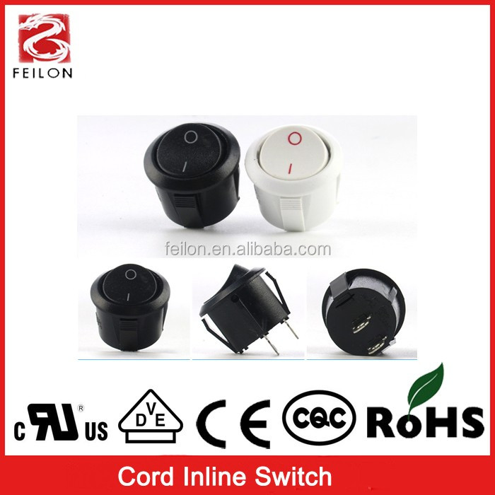 push button switch 250V/6A