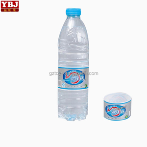 High quality PVC/PET plastic bottle neck shrink sleeve heat shrink cap seal with good printing/Customized plastic water bottle n