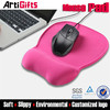 Newest fashion breast gel wrist rest mouse pad