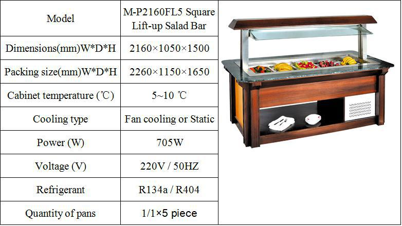 Hotel Equipment Luxury Wooden And Marble Refrigerated Commercial - Commercial bar dimensions standard