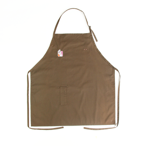 Solid Dyed Yellow Rubber Apron