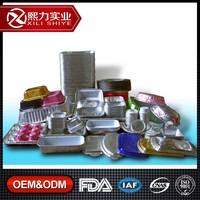 OEM Service Highest Level ISO9001, FDA,LAF, CNAS Certified Aluminum Foil Container