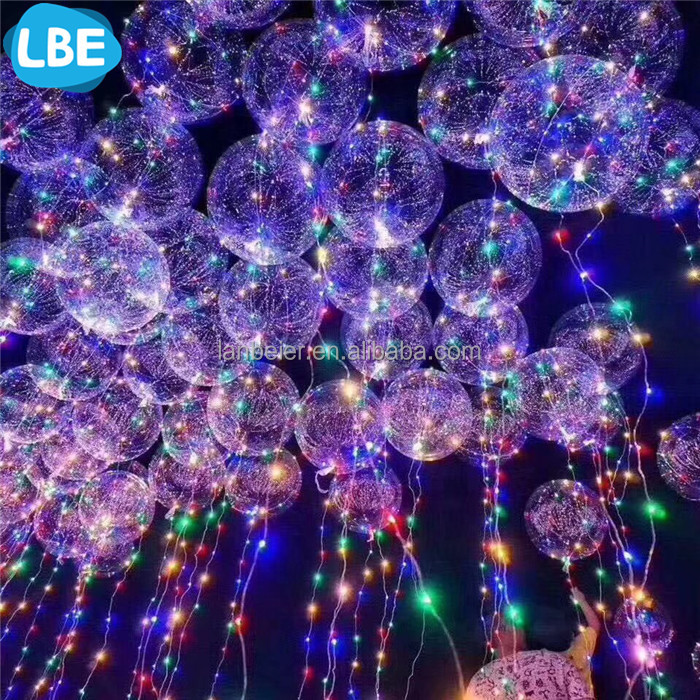decoration night light flying light balloon