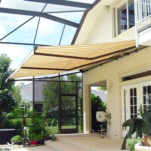 Retractable Fabric Sun Shading retractable awning hardware