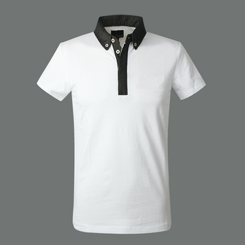 Wholesale Blank Polo White Plain Polo T Shirts Organic ...