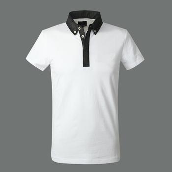 Wholesale Blank Polo White Plain Polo T Shirts Organic ...