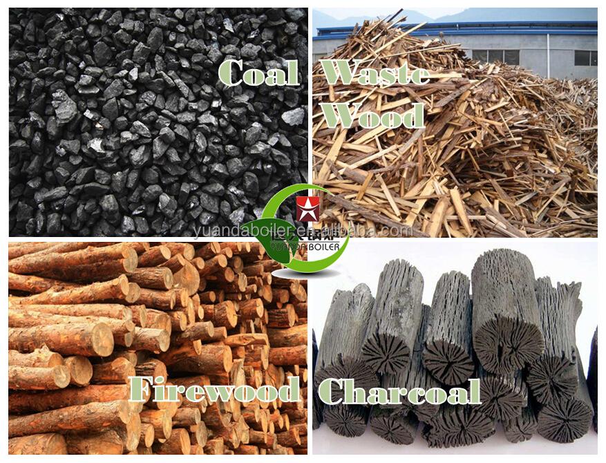 Coal Wood Fuel Biomass Pellets Multi Fuel Steam Boiler For Industry ...