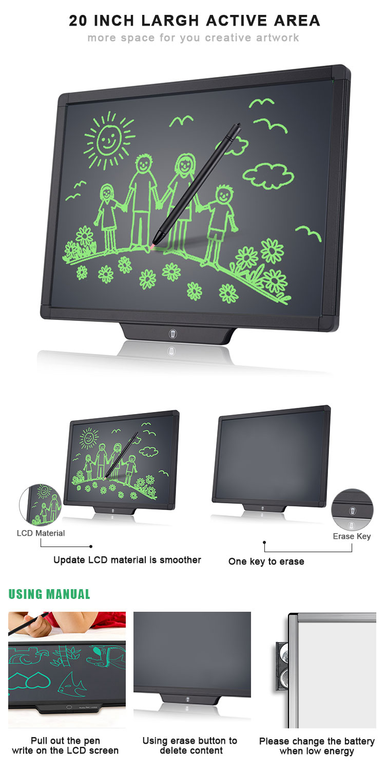 Newyes Best Selling 20 Inch Digital Electronic LCD Drawing Tablet