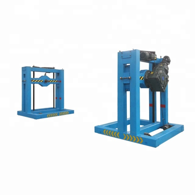 China steel coils up-ender machine