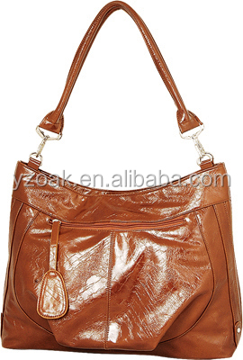 2015 wholesals PU leather shopping bags and handbags