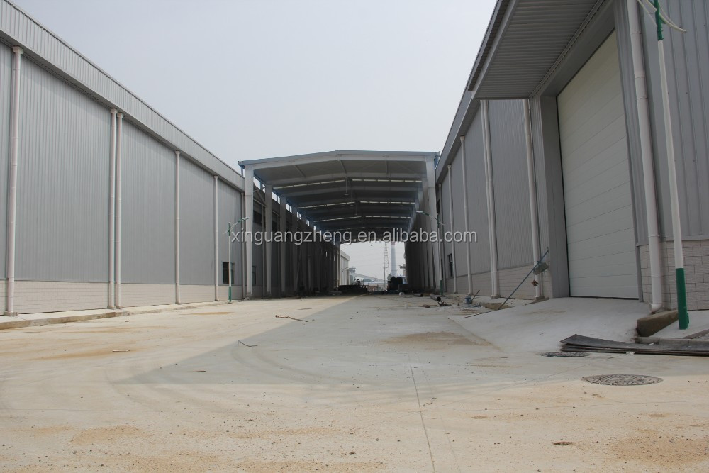 prefabricated steel structure warehouse building construction materials