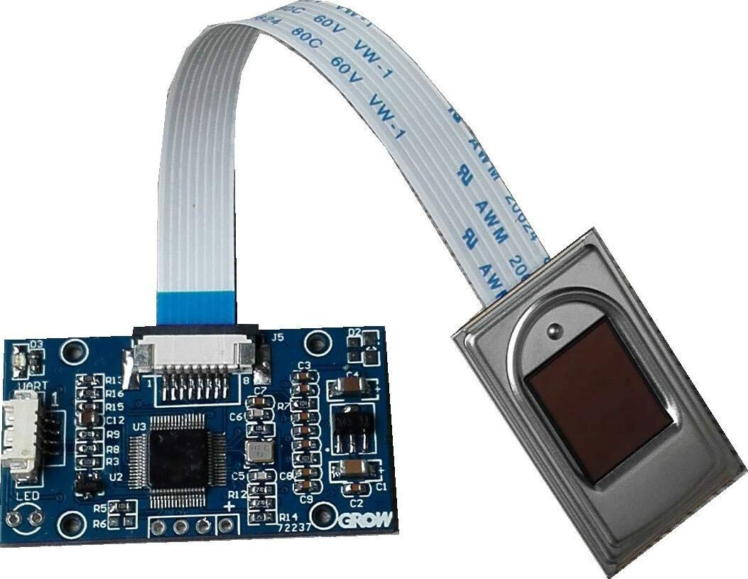 Capacitive Fingerprint Reader@Pzsmocn,Onboard Processor STM32F105 Commercial Fingerprinting Algorithm,Semiconductor Sensor.Applied to Development of Fingerprint Locks,Safes,Access control,Attendance