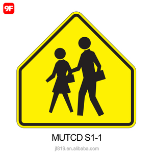 Aluminum traffic sign safety road sign