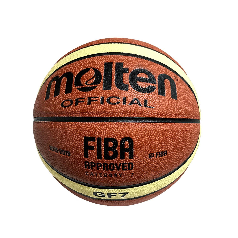 d8ba82693b0 Get Quotations · Molten Basketball Official Size 7 FIBA Indoor Composite B  GF7