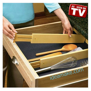 As Seen On Tv Drawer Divider Ideal For Kitchen Utensils