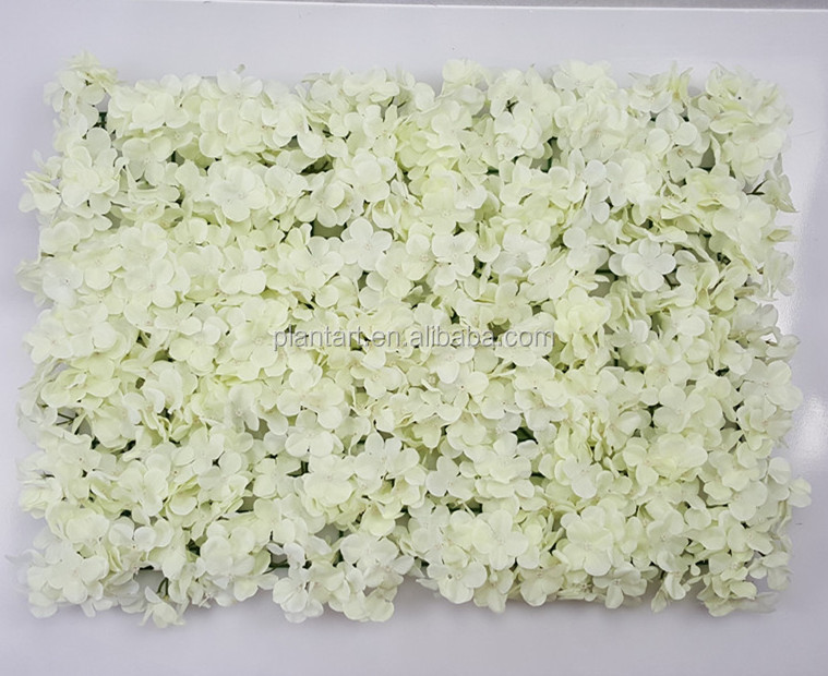 Shuyi wholesale high quality artificial flower wall sticker of hydrangea rose peony flowers