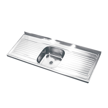 1.5m Stainless Steel Sink Kitchen,Top Mount Kitchen Sinks With ... on apron sink with drainboard, bar sink with drainboard, cast iron sink with drainboard, white sink with drainboard, composite sink with drainboard, double basin sink with drainboard, farmhouse sink with drainboard, kitchen sink with drainboard,