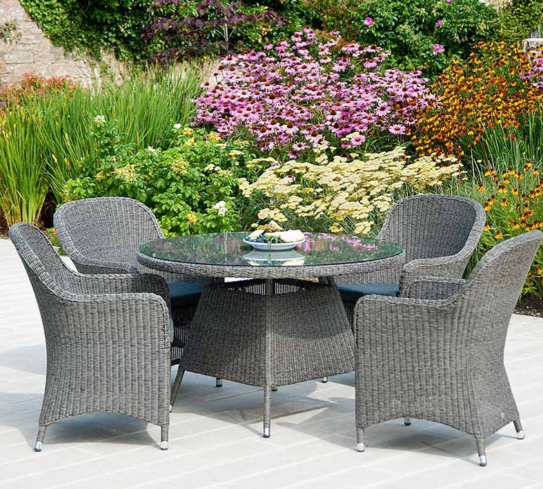 grey rattan dining table. fancy outside round dining table and chair set outdoor grey plastic rattan saharanpur furniture i
