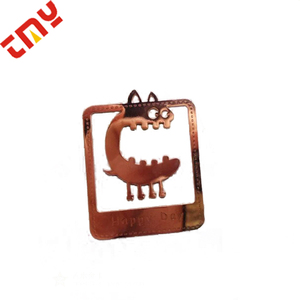 Hot Sale Creative Metal Etched Craft Copper Craft Festival Plated Craft With Your Own Design