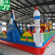 Bigjoys Latest Air Castle Jumping Kids Playground Inflatable, Infltable Kids Jumping Trampoline