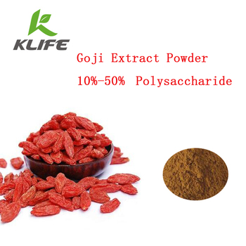 High quality Wolfberry extract/Chinese Goji Extract Powder with 50% Polysaccharides