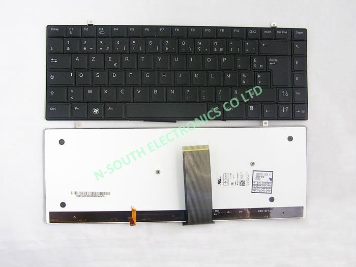 Wholesale DELL European Layout Backlit Keyboard for Studio XPS 13 1340 M1340