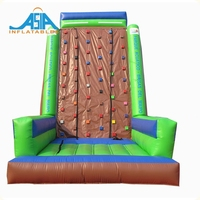 Cheap Commercial Kids Inflatable Rock Climbing Wall Inflatable Large Climbing Wall